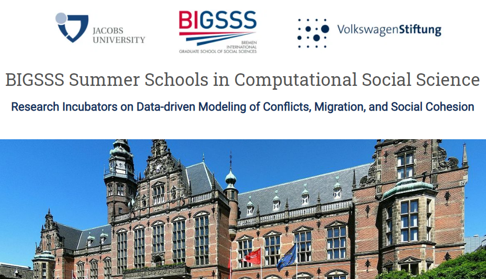 BIGSSS Computational Social Science Summer School on Social Cohesion