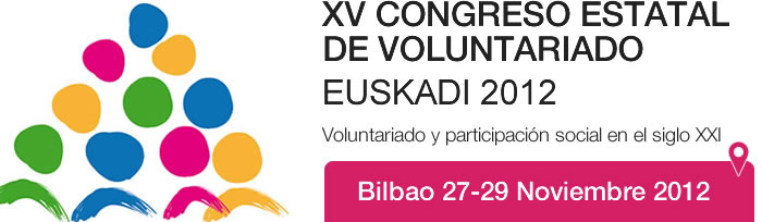 XV Congreso estatal de voluntariado Euskadi 2012