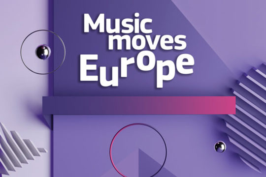 Convocatoria Music Moves Europe para apoyar la recuperación del ecosistema musical