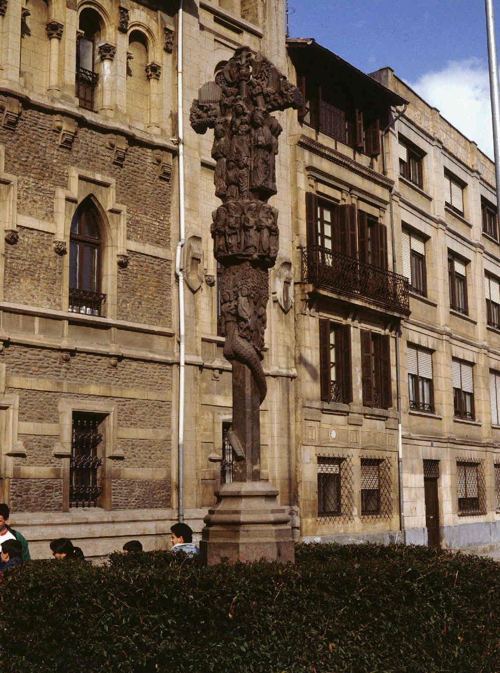 CRUZ DE KURUTZIAGA. Ondarea. Sistema de información del Patrimonio Cultural  Vasco